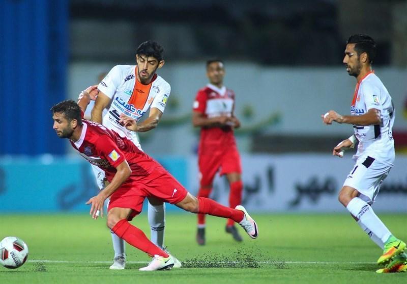 لیگ برتر فوتبال، ذوب آهن در آخرین لحظه از شکست خانگی مقابل نفت گریخت، نکونام و دایی به تساوی رضایت دادند