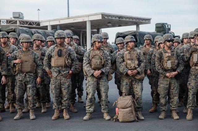 ترامپ به سربازان اختیار حفاظت از ماموران اداره مهاجرت را می دهد