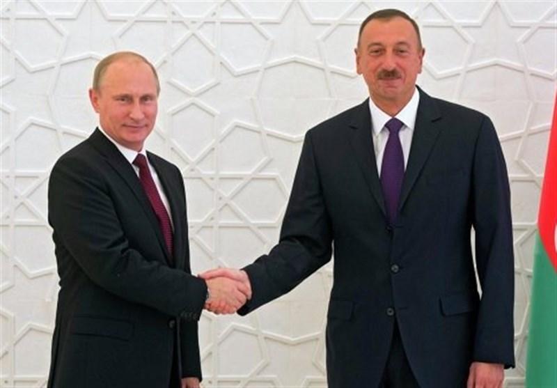 گفتگوی پوتین و علی اف در خصوص تقویت همکاری های دوجانبه