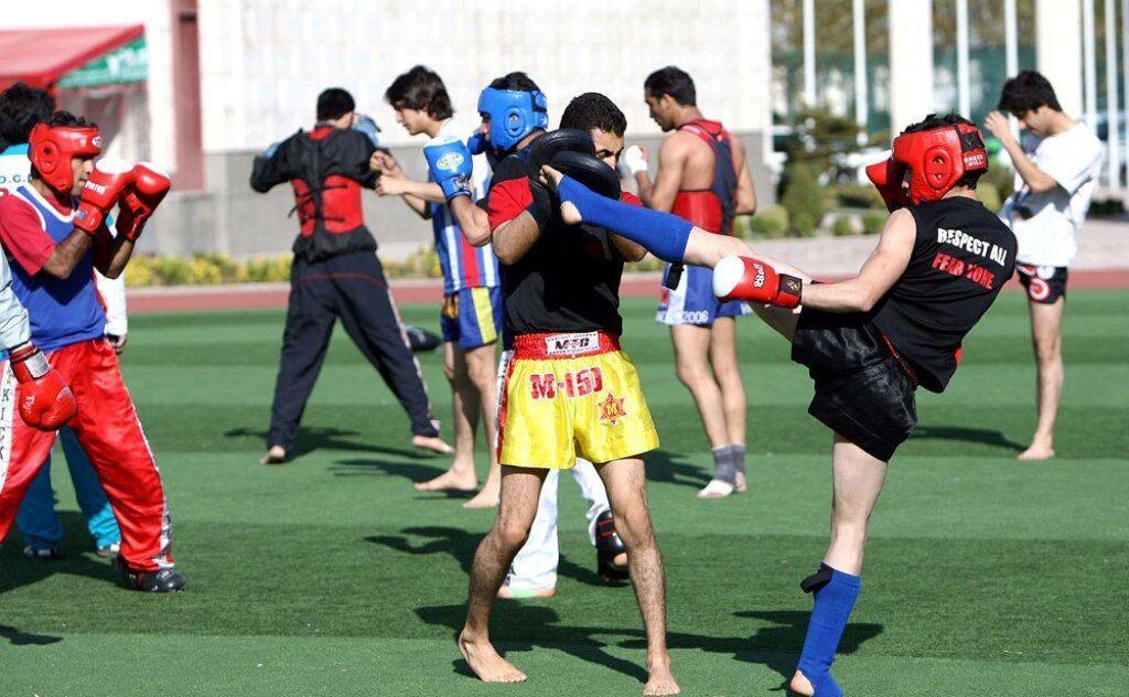 خبرنگاران اعزام تیم موی تای آقایان و بانوان جزیره کیش به مسابقات قهرمانی کشور