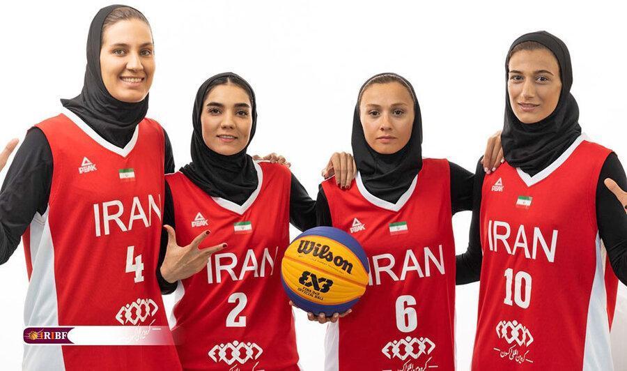 جام جهانی بسکتبال 3 نفره بانوان؛ یک شکست و یک پیروزی برای ایران