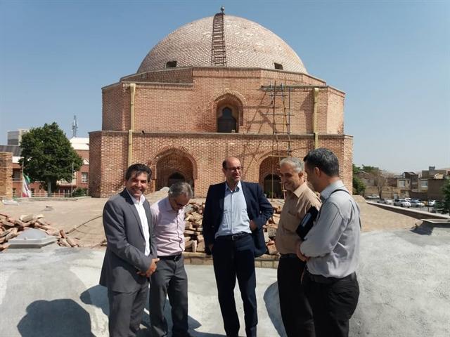 مرمت مسجد جامع ارومیه ادامه دارد